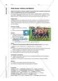 Una ciudad, dos grandes equipos - Ein Webquest zu Real Madrid und Atlético Madrid Preview 6