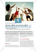 """Mente sana en cuerpo sano - """"Sport"""" im Spanischunterricht Preview 1"""