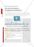 Los microrrelatos y su potencial didáctico Preview 1