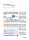 Landwirtschaft in Polen - Struktur- und Prozessanalyse eines Agrarlandes Preview 1