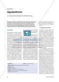 Aquakulturen - Ein unverzichtbarer Baustein für die Welternährung Preview 1