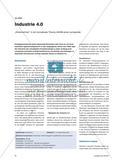 """Industrie 4.0 - """"Hineinbohren"""" in ein komplexes Thema mithilfe einer Lernspirale Preview 1"""