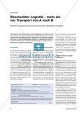 Boomsektor Logistik – mehr als nur Transport von A nach B Preview 1