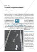 Laufend Geographie lernen - Das Laufdiktat im Geographieunterricht Preview 1