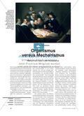 Organismus versus Mechanismus - Mensch und Natur in der Renaissance Preview 1