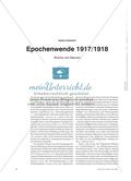 Epochenwende 1917/1918 - Brüche und Zäsuren Preview 1