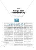 Kriegs- oder Friedensordnung? - Politische Grundsatzdiskussion in der Weimarer Republik Preview 1