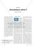 """Wunderbare Jahre""? - Jugend in der DDR Preview 1"