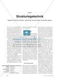 Strukturlegetechnik - Begriffe individuell verstehen, miteinander kommunizieren, kooperativ agieren Preview 1