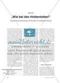 """""""Wie bei den Hottentotten!"""" - Kritische Auseinandersetzung mit kolonialer und rassistischer Sprache Preview 1"""