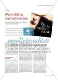 """Eine wortschatzorientierte Auseinandersetzung mit dem Bilderbuch """"Die große Wörterfabrik"""" Preview 1"""