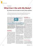 What Can I Do with My Body? - Ein Fotobuch über sich selbst und seinen Körper gestalten Preview 1