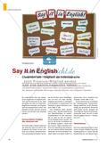 Classroom talk – Englisch als Arbeitssprache Preview 1