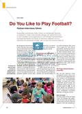 Do You Like to Play Football? - Partner-Interviews führen Preview 1