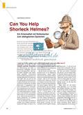 Can You Help Shorleck Helmes? - Ein Kriminalfall mit Rollenkarten zum dialogischen Sprechen Preview 1