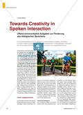 Towards Creativity in Spoken Interaction - Offene kommunikative Aufgaben zur Förderung des dialogischen Sprechens Preview 1