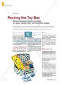 """Packing the Toy Box - Mit verschiedenen Varianten des Spiels """"Ich packe meinen Koffer"""" den Wortschatz festigen Preview 1"""
