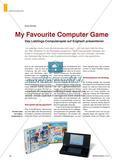 My Favourite Computer Game - Das Lieblings-Computerspiel auf Englisch präsentieren Preview 1