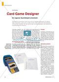 Card Game Designer - Ein eigenes Quartettspiel entwickeln Preview 1