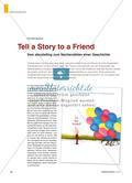 Tell a Story to a Friend - Vom storytelling zum Nacherzählen einer Geschichte Preview 1
