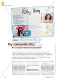 My Favourite Star - Ein Lernplakat erstellen und präsentieren Preview 1