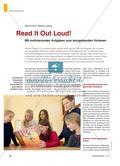 Read It Out Loud! - Mit motivierenden Aufgaben zum sinngebenden Vorlesen Preview 1