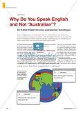 """Why Do You Speak English and Not """"Australian""""? - Ein E-Mail-Projekt mit einer australischen Schulklasse Preview 1"""