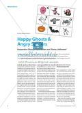 """Happy Ghosts & Angry Spiders - Kooperative Übungsmöglichkeiten zum Thema """"Halloween"""" Preview 1"""