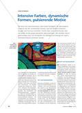 Intensive Farben, dynamische Formen, pulsierende Motive Preview 1
