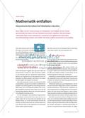 Lernziele des Faltens in Mathematik Preview 1