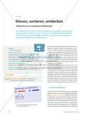 Klonen, sortieren, entdecken - Zahlenhäuser am interaktiven Whiteboard Preview 1