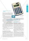 Forschen mit dem Taschenrechner - Zahlen und ihre Beziehungen auf der symbolischen Ebene untersuchen Preview 2