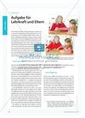 Aufgabe für Lehrkraft und Eltern Preview 1