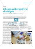 Jahrgangsübergreifend einsteigen - Das Operationsverständnis der Multiplikation erarbeiten Preview 1