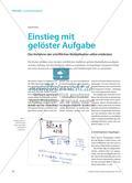 Einstieg mit gelöster Aufgabe - Das Verfahren der schriftlichen Multiplikation selbst entdecken Preview 1