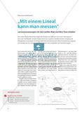"""""""Mit einem Lineal kann man messen"""" - Lernvoraussetzungen mit dem weißen Blatt und Mini-Tests erheben Preview 1"""