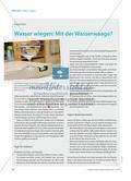 Wasser wiegen: Mit der Wasserwaage? Preview 1