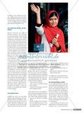 Ein mutiges Mädchen setzt sich für Bildung ein - Lernen an Lebensgeschichten: Malala Yousafzai Preview 2