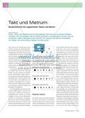 Takt und Metrum - Musikunterricht mit ungewohnten Takten und Metren Preview 1