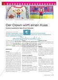 Der Clown wirft einen Kuss - Kreative musikalische Ideen für ein Zirkuslied Preview 1