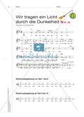 Finden von Wörtern und Bewegungen zu einem Laternenlied Preview 4