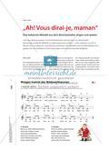"""""""Ah! Vous dirai-je, maman"""" - Eine bekannte Melodie aus dem Barockzeitalter singen und spielen Preview 1"""