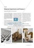 Material, Experiment und Prozess / I - Skulpturales Handeln in der Hochschule Preview 1