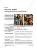 Lebendige Mythen - Annäherung an Historienmalerei durch ein Literatur-Kunst-Projekt Preview 1