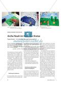 Arche Noah im Meer der Kreise: Papiertheater – ein einfaches Figurentheaterprojekt Preview 1