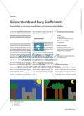 Geisterstunde auf Burg Greifenstein - Papiertheater im Crossover von digitalen und konventionellen Medien Preview 1