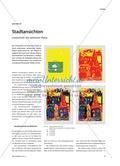 Stadtansichten - Linolschnitt mit verlorener Platte Preview 1