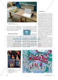 Stadtansichten - Linolschnitt mit verlorener Platte Preview 2