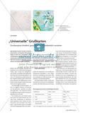 """""""Universelle"""" Grußkarten - Druckprozesse inhaltlich, gestalterisch und handwerklich verstehen Preview 1"""
