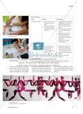 Menschen in Bewegung - Endlosdruck mit Walze als Druckstock Preview 2